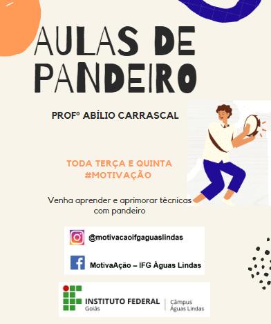 AULA DE PANDEIRO