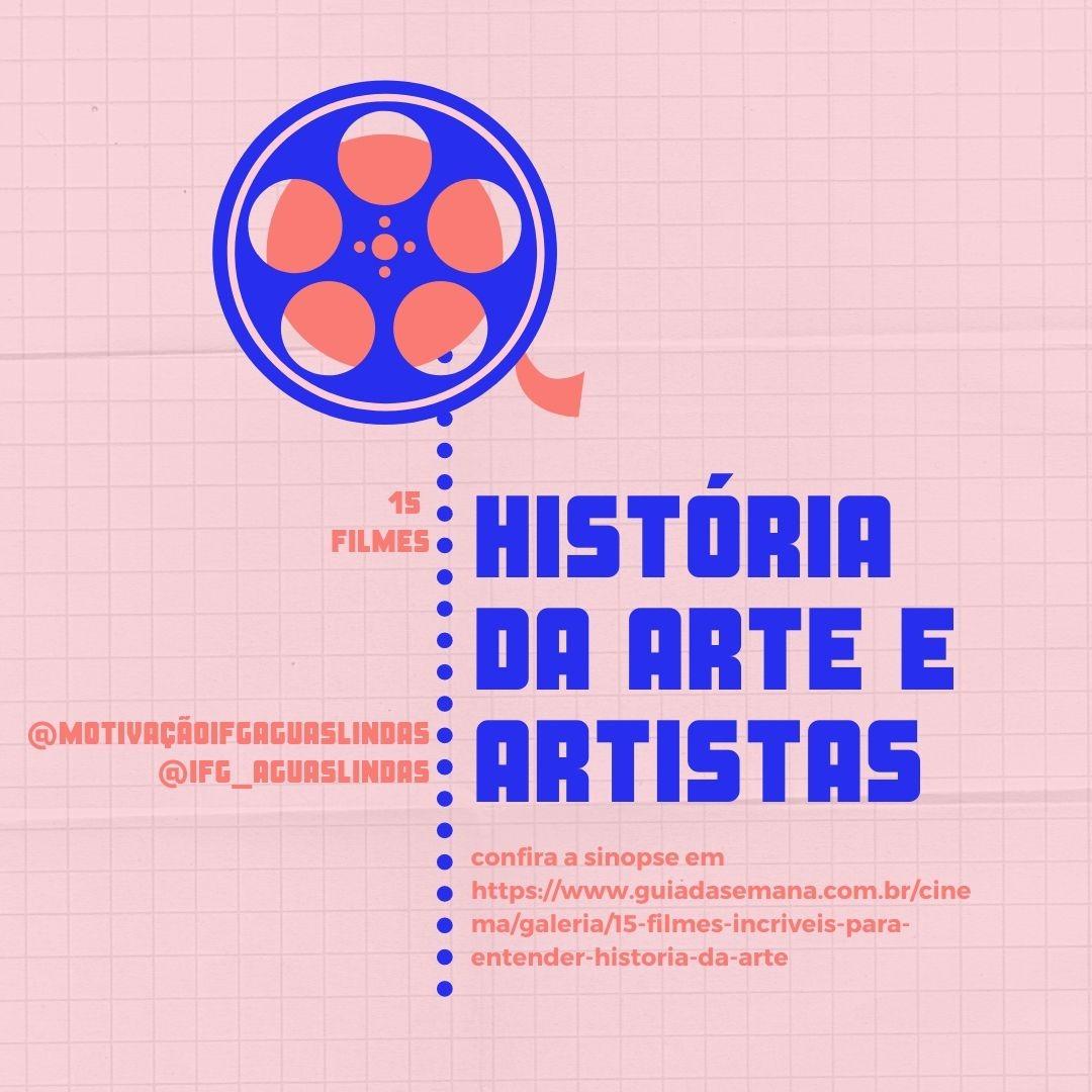 FILMES HISTÓRIA DA ARTE